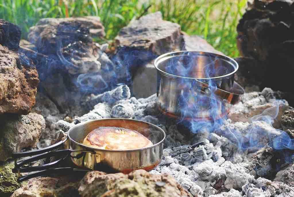 Material acampada