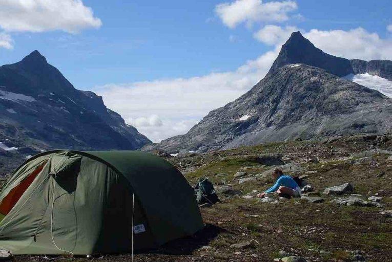 Acampada libre en los Pirineos