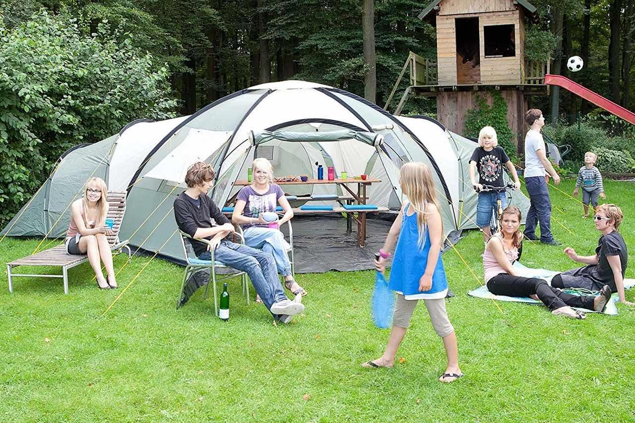 Tienda de camping grande familiar