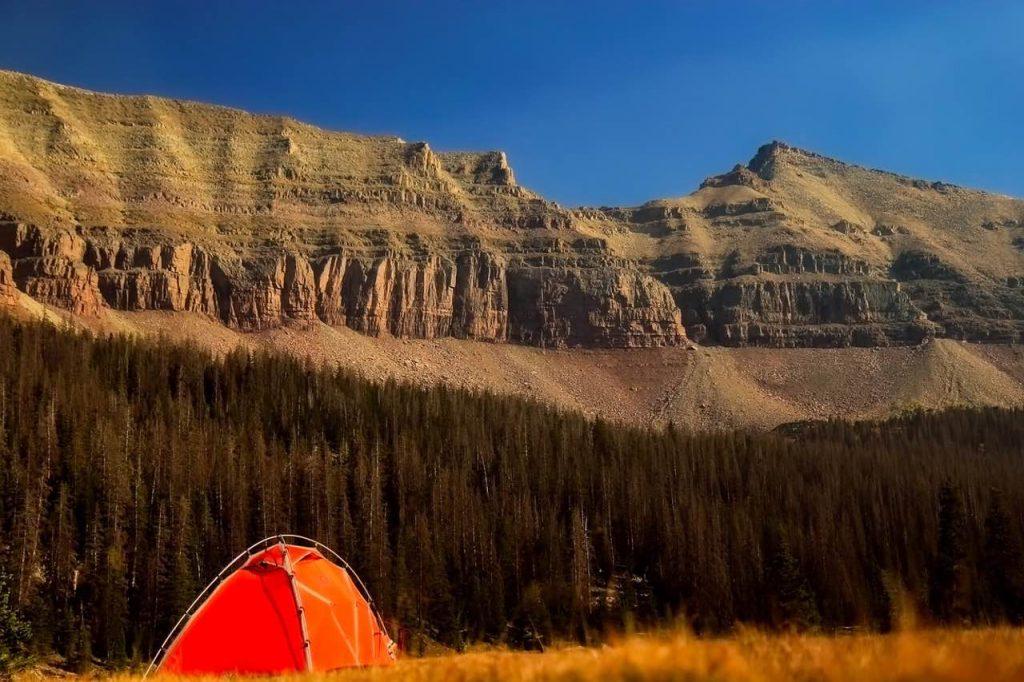 Tienda de campaña para montaña