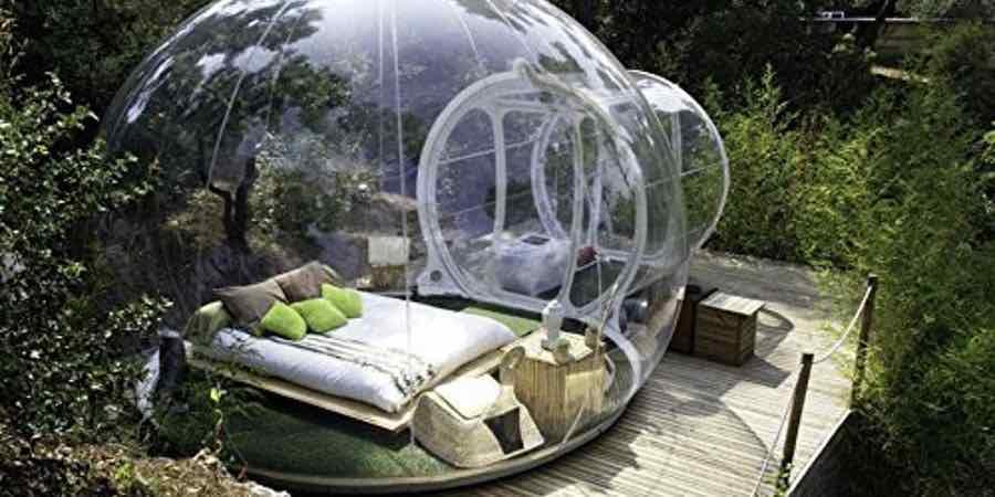 tienda bubble, casa burbuja precio, attrap reves, comprar burbuja hotel, tienda campaña burbuja, bubble room comprar