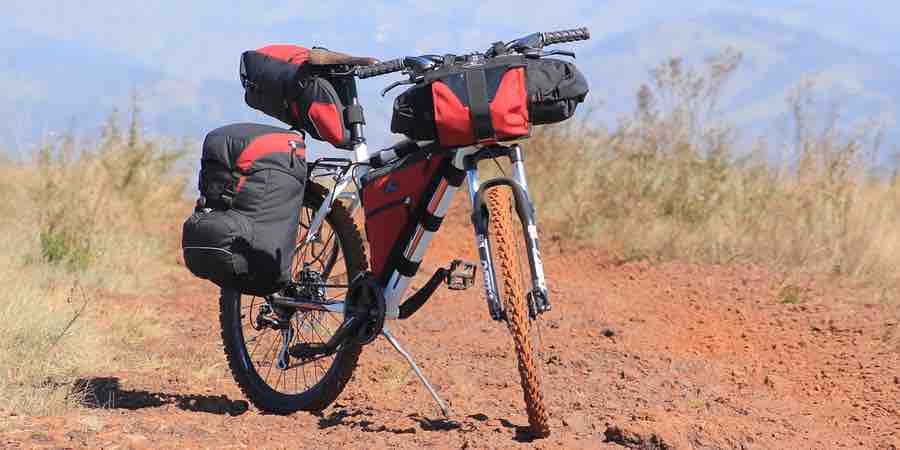Cicloturismo. Bikepacking
