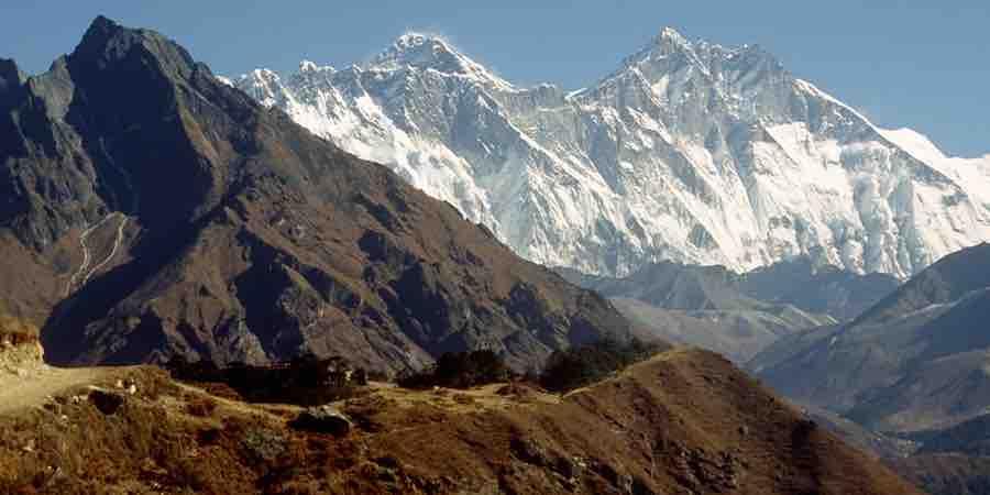 Trekking en el himalaya. Trekking en nepal