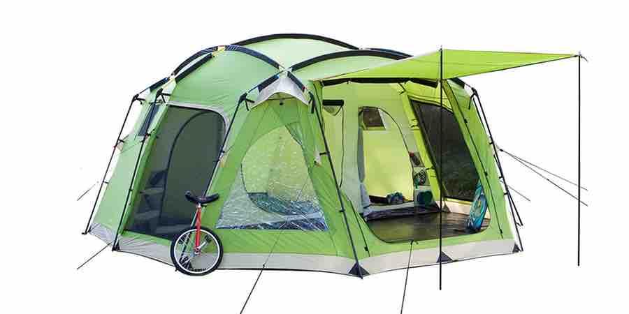 Tienda de acampada Skandika copenhagen 8