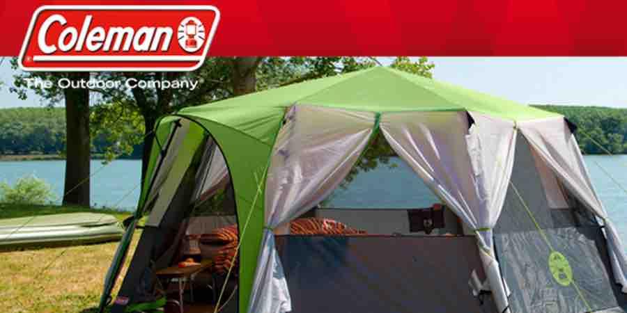 Tienda de acampar coleman Octagon