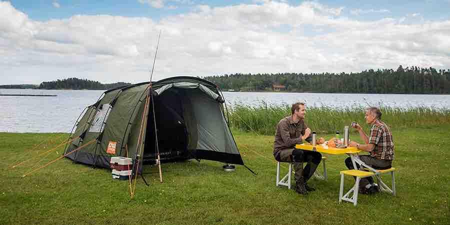Tiendas de acampada Crua Tri