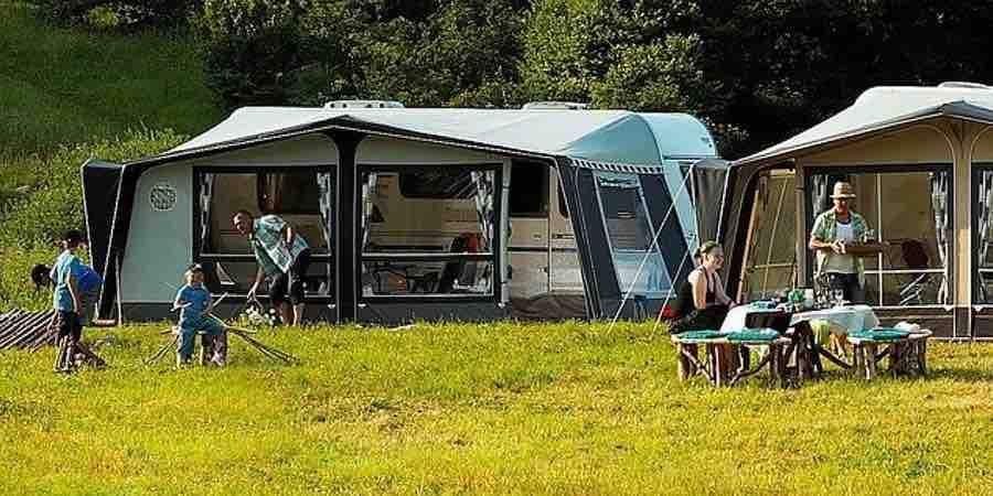 acampar con niños