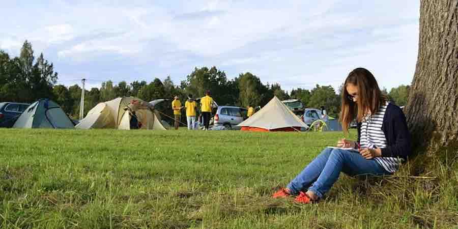consejos para ir de camping con niños