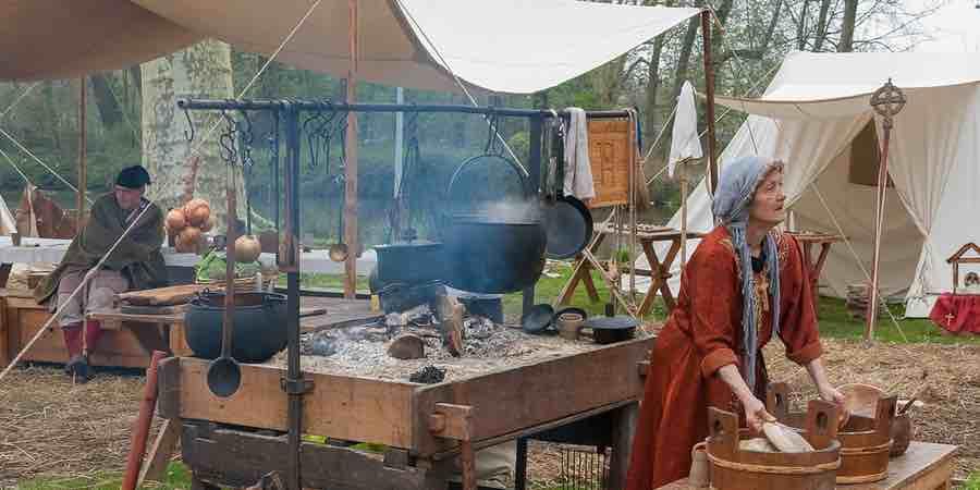 tiendas medievales para ferias y festivales medievales