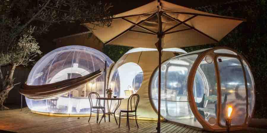 Hoteles burbujas