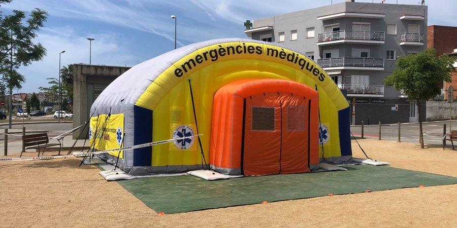 Tiendas de campaña para emergencias, tienda de campaña de emergencia
